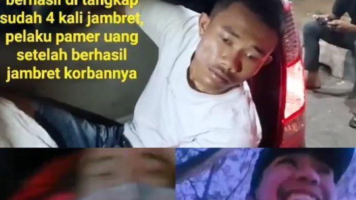 Kocak, Jambret di Palembang Tertangkap Gara-gara Pamer Hasil Kejahatan di Medsos