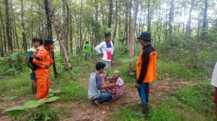 Sempat Hilang, Pria Tua Asal Bringin Kabupaten Semarang Ditemukan di Tengah Hutan