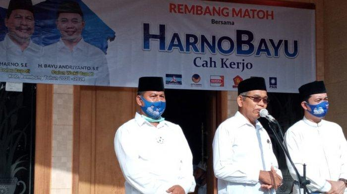Janji Harno Bakal Calon Bupati Rembang Sumbangkan Gaji Buat Masyarakat