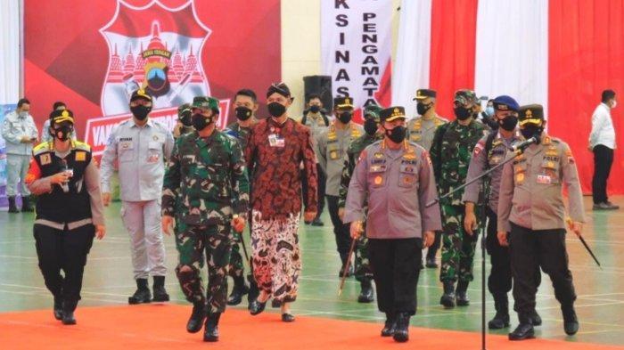 Jasa Raharja Dukung Penuh Program Vaksinasi Merdeka Candi di GOR Jatidiri Semarang