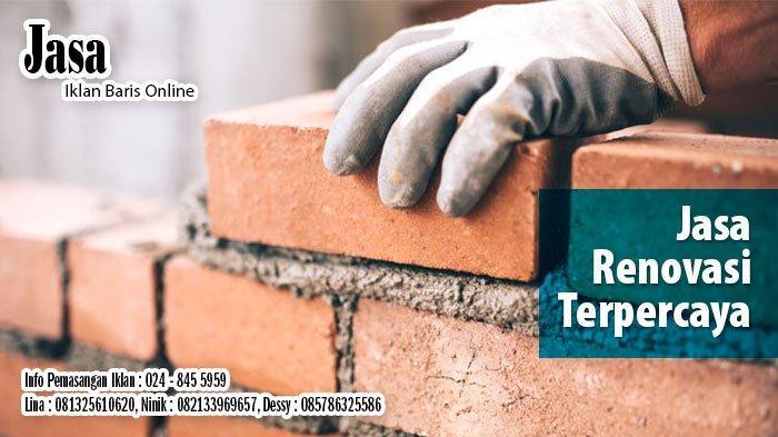 Info Biro Jasa Bangunan, Arsitek, Sedot WC, Laundry, Servis di Semarang, Senin 15 Juni 2020