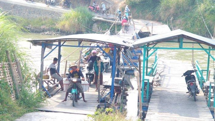 Hampir Tutup Tahun, Proyek Jembatan Gantung Cepiring-Patebon Kendal Belum Terlaksana