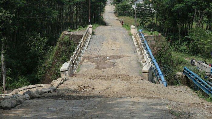 Perbaikan Jembatan Kaligintung Tegal Sudah 100 Persen
