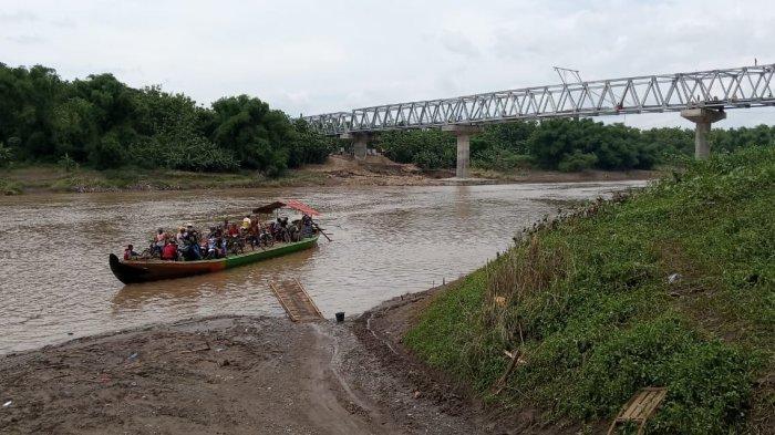 Jembatan Luwihaji-Medalem Blora Akan Diresmikan Awal Januari 2021
