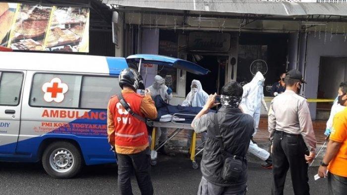 Toko Roti di Yogyakarta Terbakar, Seorang Karyawan Meninggal
