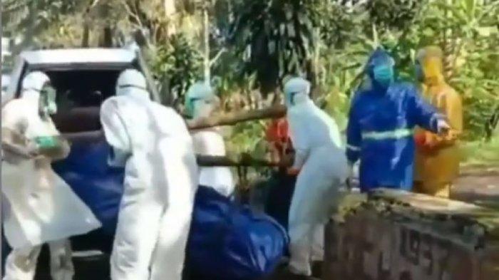 Viral Petugas Pemakaman Jenazah Pasien Corona Dilempari Batu oleh Warga