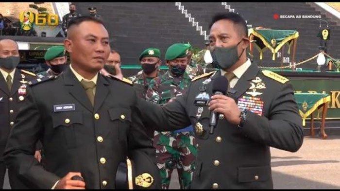 Cerita Hadiah SpesialJenderal Andika Perkasa untuk Prajurit TNI AD Tak Pulang Kampung 18 Tahun