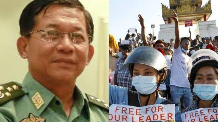 Pemimpin Kudeta Militer Myanmar Akan Sambangi Indonesia,Ternyata Myanmar Sangat Menyukai Negeri Ini