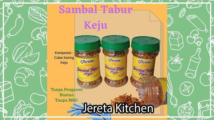 Sambal Tabur Kekinian dari Jereta Kitchen