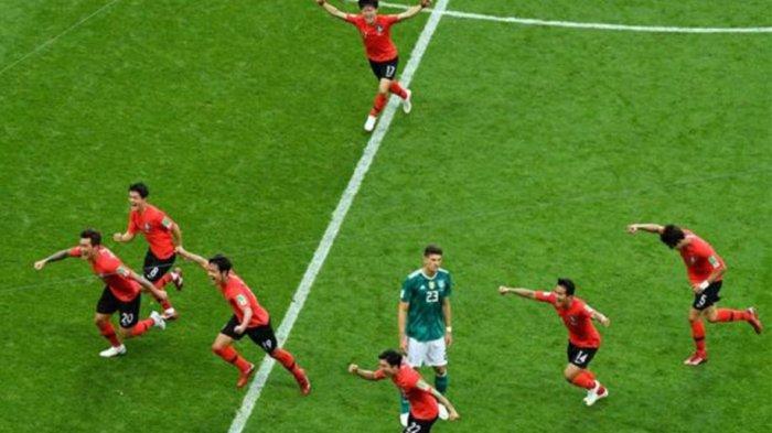 TERNYATA! Saat Kalahkan Jerman, Pemain Korea Mengira Sudah Lolos ke Babak 16 Besar