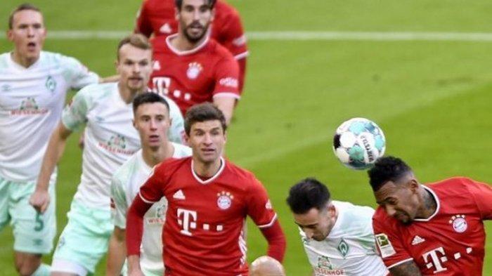 Hasil Bundesliga Bayern Muenchen Vs Werder Bremen, Die Roten Ditahan Imbang di Kandang