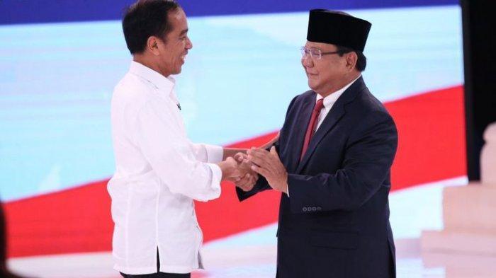 Update Terbaru Elektabilitas Capres Hari Ini,Jokowi54,7 Persen Prabowo 45,3 Persen