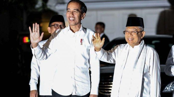 Didampingi TKN, Jokowi-Maruf Amin Akan Hadiri Penetapan Pemenang Pilpres Oleh KPU
