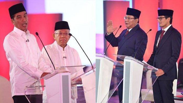 Survei TerbaruSMRC- Elektabilitas Jokowi-Maruf54,9 Persen, Prabowo-Sandiaga32,1 Persen