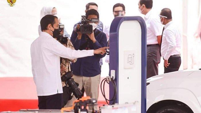 Jokowi: Groundbreaking Pabrik Baterai Awali Era Industrialisasi