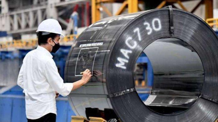 Jokowi Minta Tingginya Konsumsi Baja Tak Jadi Pasar Produk Impor