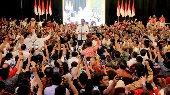 Elektabilitas Jokowi di Jawa Tengah Disebut Sempat Turun 2 Persen Berdasar Survei Internal