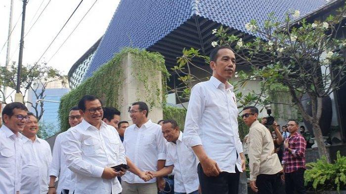 Biasa Saja, Jokowi Tanggapi Hal Biasa Pertemuan Surya Paloh dengan Anies Baswedan