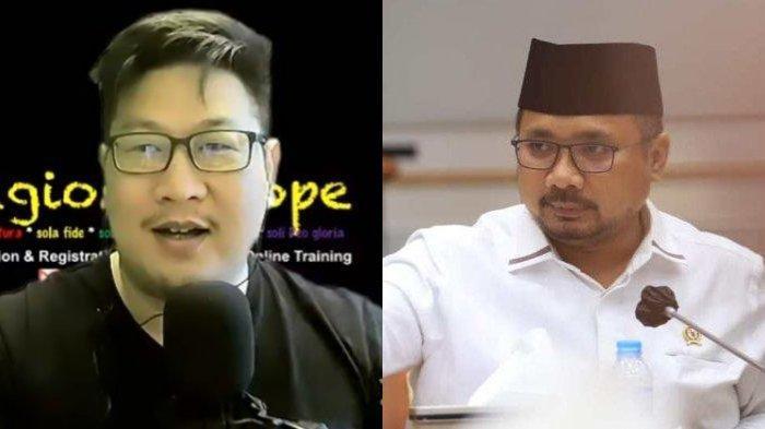 Joseph Paul Zhang Tantang Menag Gus Yaqut: Debat Sama Saya Kalau Bilang Muhammad Gak Salah