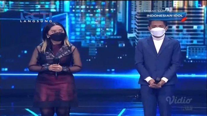 Kezia dan Joy tersingkir dari Indonesian Idol 2021.