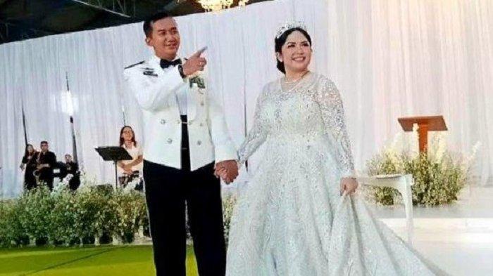 Joy Tobing Resmi Kini Menjadi Istri Perwira TNI