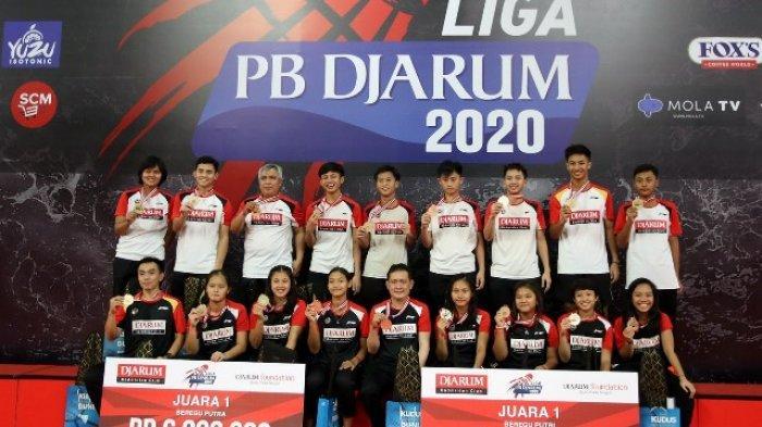 Liga PB Djarum 2020 Tuntaskan Kategori Beregu, Ini Daftar Pemenangnya