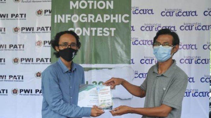 Pemenang Lomba Motion Infographic PWI Pati Angkat Potensi Daerah