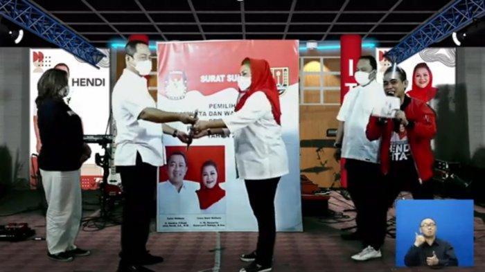 Lebih Dari 26 Ribu Warga Semarang Ikuti Kampanye Akbar Virtual Hendi-Ita