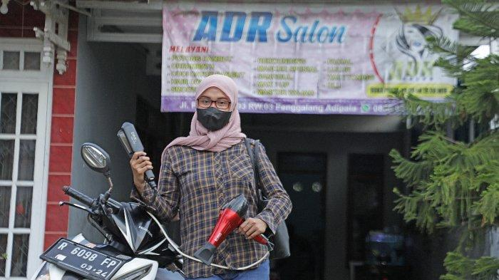 Profil Usaha Salon Binaan Pertamina Cilacap: Siasati Pandemi dengan Layanan Keliling
