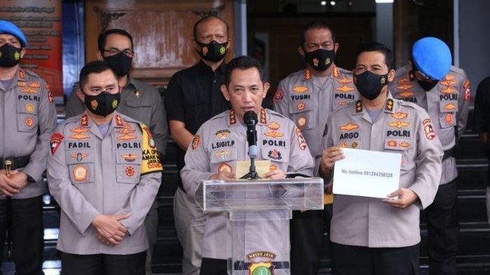 Jokowi Usulkan Satu Nama Calon Kapolri Ke DPR, Komjen Listyo Sigit Prabowo