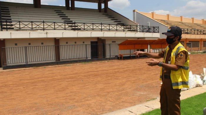 Pembangunan Stadion Joyokusumo Lanjut, Ada Pemasangan Lampu dan Pembuatan Lintasan Atletik