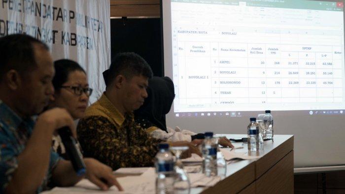 KPU Boyolali Tetapkan 810.977 DPTHP-2 Hasil Perbaikan untuk Pemilu 2019