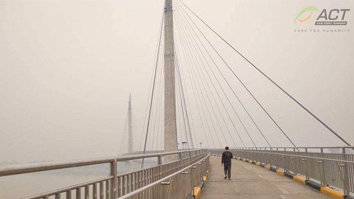 Kabut Asap Kembali Memapar Kota Jambi