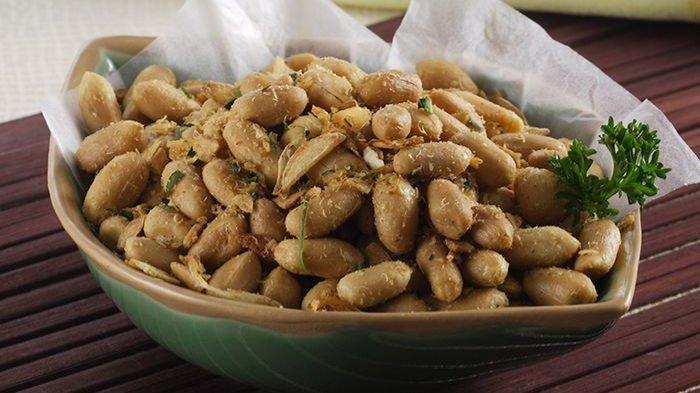 Resep Kacang Bawang Renyah Gurih Untuk Sajian Lebaran