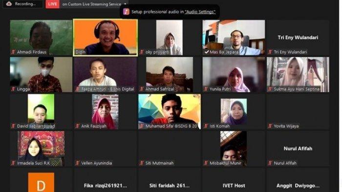 Program Studi Bisnis Digital Universitas Ivet Gelar Webinar Membaca Peluang Bisnis di Masa Pandemi