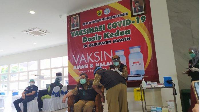 Nakes Tertunda Vaksinasi Covid-19 Tahap Pertama di Sragen Hari Ini Divaksin