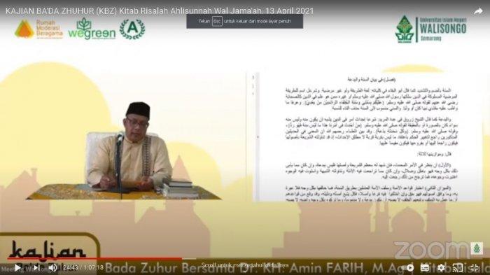 Ramadan di UIN Walisongo, Ada Kajian Kitab Risalah Aswaja Karya KH. Hasyim Asy'ari