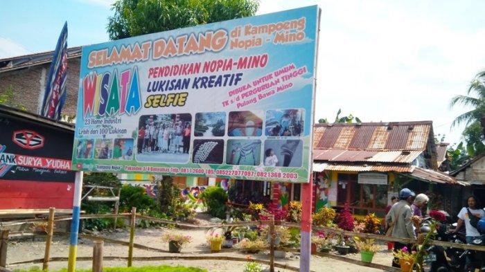 Kampung Nopia Mino, Destinasi Wisata Home Industri di Banyumas