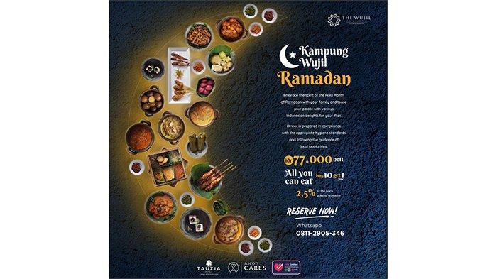 Kampung Wujil Ramadan: Sajian Berbuka Berlimpah Sekaligus Sedekah