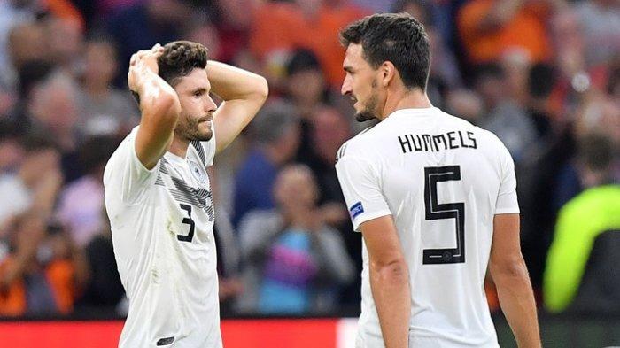 Hasil Lengkap UEFA Nations League - Belanda Permalukan Jerman di Amsterdam