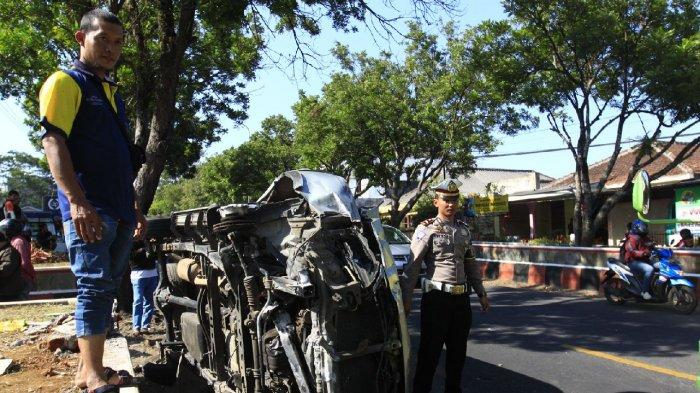 BREAKING NEWS: Tabrakan Beruntun di Walitelon Selatan Temanggung, 1 Orang Meninggal Dunia