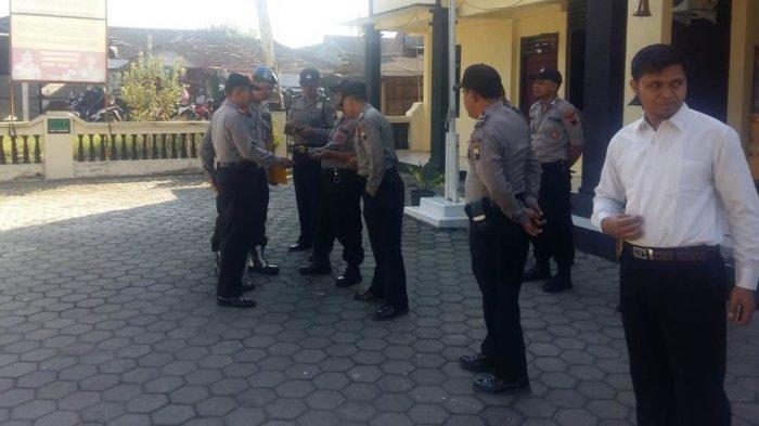 Tampang Anggota Polsek Jakenan Jadi Sasaran Pemeriksaan Provos