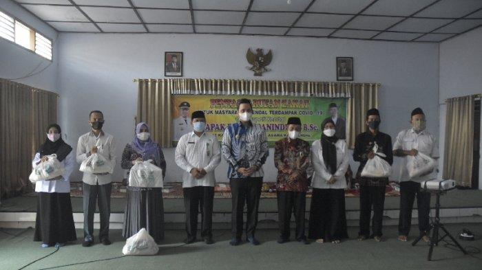2.320 Paket Bantuan Sembako dari Kemenag Kendal bagi Warga Terdampak PPKM