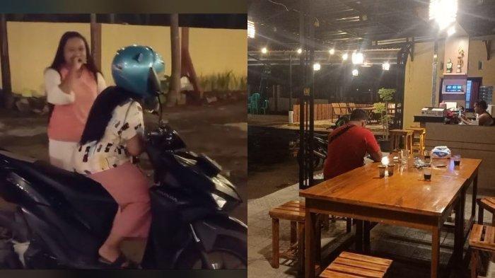 2 Mba Ini Hanya Bisa Ketawa karena Keliru, Dikira Kafe Ternyata Kantor Polsek Pekalongan Selatan