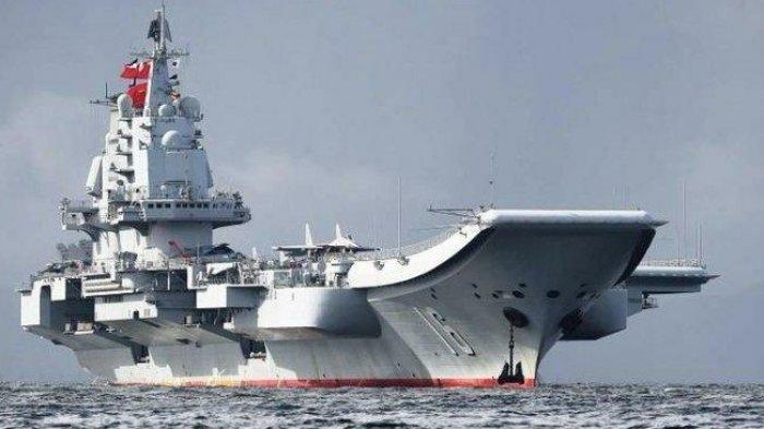 AS Kirim 2 Kapal Perang Lewati Selat Taiwan, China Kerahkan Kapal Induk Shandong