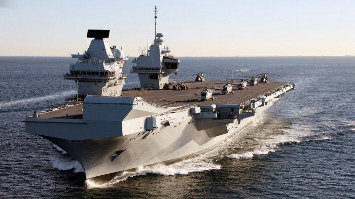 Kapal Induk Inggris & Militer Jepang Bakal Gelar Latihan Perang di Samudra Pasifik