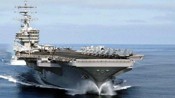 Kapal Induk AS Ditarik dari Timur Tengah Jelang Peringatan Setahun Tewasnya JenderalQasem Soleimani