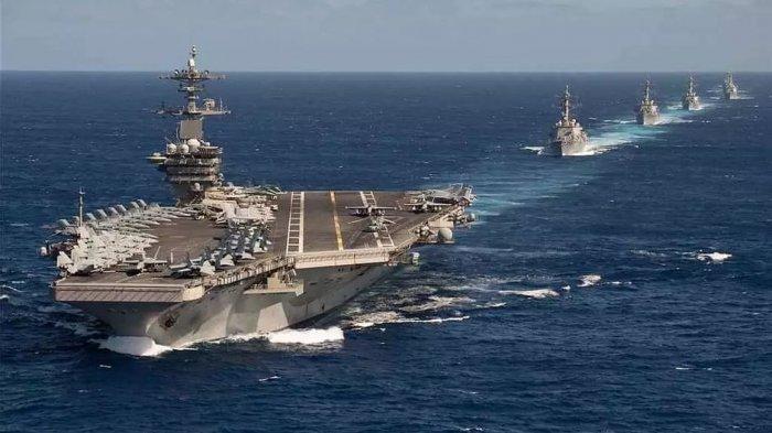 AS dan China Kerahkan Kapal Induk ke Laut China Selatan