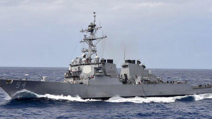Setelah China Kirim Pesawat Militer, Kapal Perusak AS Berlayar di Selat Taiwan