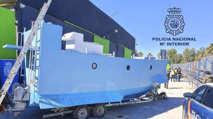 Polisi Spanyol Amankan Kapal Selam Khusus untuk Angkut Narkoba